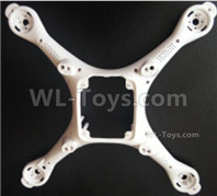 Wltoys XK X1 Parts-Lower body shell cover-X1-02,Wltoys XK X1 Drone Parts,XK X1 Quadcopter Parts