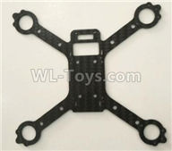 XK X130-T.0008 Spare Parts-Main body frame,Wltoys XK X130-T RC Racing Drone Parts,X130-T RC Quadcopter Spare parts,X130T RC Drone parts