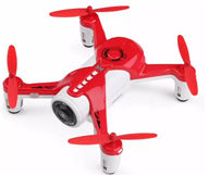 XK X150 RC Racing Drone with HD Camera 2.4G 4CH Carbon Fiber Frame RTF Micro RC Quadcopter,Wltoys XK X150 RC Racing Drone-Red