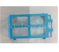 XK X150 Spare Parts-X150.0004.001 Battery support frame-Blue,Wltoys XK X150 RC Racing Drone Parts,X150 RC Quadcopter Spare parts,X150 RC Drone parts