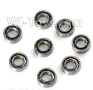 XK X250 Parts-20 Bearing(8pcs) For Wltoys XK X250 Quadcopter Spare parts,X250 RC Drone parts