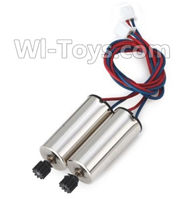 XK X250 Parts-34 Rotating Motor with red and Blue wire,CW Motor(2pcs) For Wltoys XK X250 Quadcopter Spare parts,X250 RC Drone parts