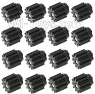 XK X250 Parts-39 Small Motor gear-11 Teeth(16pcs) For Wltoys XK X250 Quadcopter Spare parts,X250 RC Drone parts