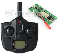 XK X250 Parts-41 Transmitter & Circuit board For Wltoys XK X250 Quadcopter Spare parts,X250 RC Drone parts