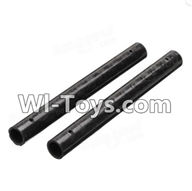 XK X251 Drone Parts-09 Long Carbon tube for the Support arm(9X87mm)-2PCS Spare Parts Accessories for Wltoys XK X251 RC Drone,RC Quadcopter Aircraft