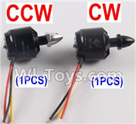 XK X380 Parts-17 2212 KV 950 Reversing-rotating Brushless Motor(CCW)-1pcs & 2212 KV 950 Rotating Brushless Motor(CW)-1pcs Spare Parts Accessories for Wltoys ...