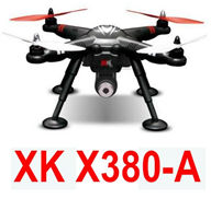 XK X380-A Quadcopter(include the one-axis Servo cradle head And 1080P HD Motion camera) Spare Parts Accessories for Wltoys XK X380-A X380-B X380-C RC Drone,5.8G image transmission RC Quadcopter Aircraft
