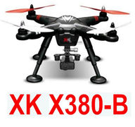 XK X380-B Quadcopter(include the three-point damping cradle head And 1080P HD Motion camera) Spare Parts Accessories for Wltoys XK X380-A X380-B X380-C RC Drone,5.8G image transmission RC Quadcopter Aircraft