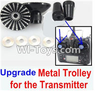 XK X500 Spare Parts-041-03 Upgrade Metal Trolley for the Transmitter-Black(Can be used for XK X251 K100 K110 K120 K123 K124 X350 X380 X500),XK X500 RC Quadcopter Drone Spare Parts,XK X500-A Replacement Accessories Parts