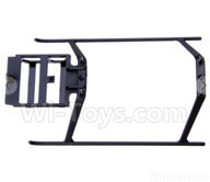 XK K110 Parts-51 Landing skid For Wltoys XK X110 Helicopter parts,6ch Brushless Helicopter spare parts