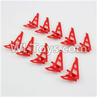 XK K120 Parts-19 Verticall wing(10pcs) For Wltoys XK X120 Helicopter parts,6ch Brushless Helicopter spare parts