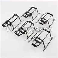 XK K120 Parts-35 Landing skid(5pcs) For Wltoys XK X120 Helicopter parts,6ch Brushless Helicopter spare parts