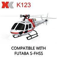 XK K123 helicopter AS350 6CH Flybarless RC Helicopter For XK K123 helicopter Spare parts,AS350 6CH Flybarless RC Helicopter  parts 6-channel-helicopter-all Single-blade-helicopter Mini-helicopter