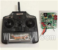 XinXun X32 RC Helicopter model XinXun-X32-B-2-Parts-06 Transmitter & Circuit board,Receiver board