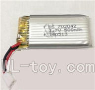 XinXun X32 RC Helicopter model XinXun-X32-B-2-Parts-09 3.7v 500mah Battery