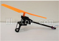 XinXun X39 RC Quadcopter UFO XinXun X39 X39V parts-17 Rotating Motor Assembly-Orange rotor & the motor wire is Red and Blue