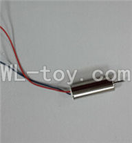 XinXun X45 X45V RC Quadcopter UFO XinXun X45 Quadcopter parts-09 rotating Motor with red and blue wire(1pcs)