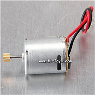 mjx T55/T655-parts-30 main motor with long shaft and gear,MJX T655 T55 RC Helicopter Spare Parts