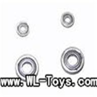 mjx T55/T655-parts-56 parts Bearing Set 2Big + 2Small