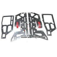 mjx T55/T655-parts-62 Main Metal Frame(4pcs),MJX T655 T55 RC Helicopter Spare Parts