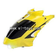 LS-222 ls222 rc helicopter parts-02 Head cover(Yellow)