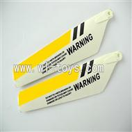 LS-222-ls222 helicopter parts-09 Upper main blades(2pcs)-Yellow