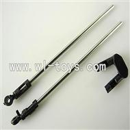LS-222 LS222 helicopter parts-15 Support pipe(2pcs) & Head for the support pipe(2pcs)& Horizontal fixture