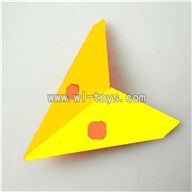 LS-222-ls222 helicopter parts-17 Horizontal wing-(Yellow)