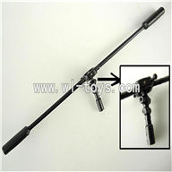 LS-222 ls222 helicopter parts-27 Balance bar & Head for the inner shaft & Pin for balance bar