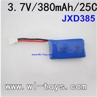 JXD385, JXD-385 quadcopter quad copter Spare Parts, Battery 380mah upgrade
