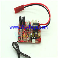 LianSheng LS-208 LS208 RC Helicopter parts, Main Receiver Board, PCB