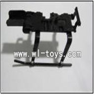 WLtoys S977 RC Helicopter parts,Landing Gear-08