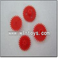 WLtoys S988 RC Helicopter parts,Gear 4pcs/set-09