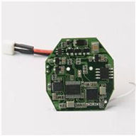 WLtoys V966 Power Star 1 6CH Flybarless RC Helicopter parts, Receiver Board PCB-11