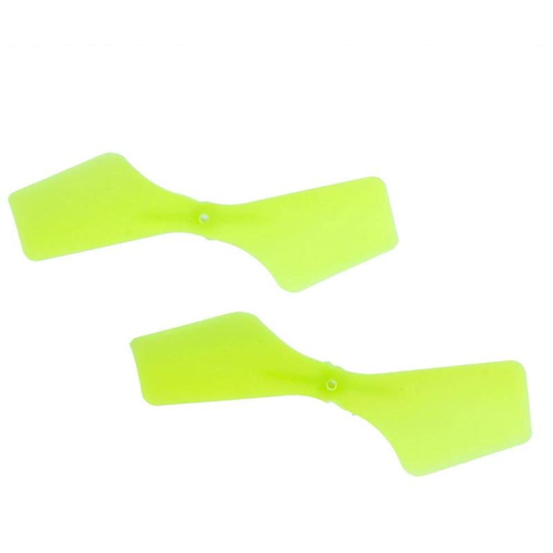 WLtoys V966 Power Star 1 6CH Flybarless RC Helicopter parts, Tail blades color yellow 2pcs/lot-21
