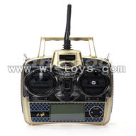 WLtoys V966 Power Star 1 6CH Flybarless RC Helicopter parts, Remote controller-30