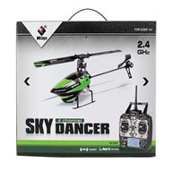WLtoys V955 2.4G 4 Channel RC Flybarless Helicopter, Ready to fly