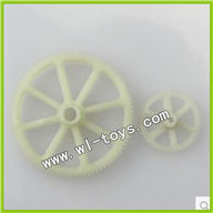 WLtoys V912 2.4G RC single Helicopter Parts, Main Gear and Small Gear 2pcs/lot-38