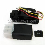 WLtoys-v979-26 camera unit(Include camera,Reader,2GB Memory card) Wltoys V222 Quadcopter parts wl toys 222 parts