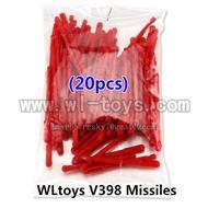 20PCS Missiles For V959 Quadcopter wholesale Wltoys V222 Quadcopter parts wl toys 222 parts