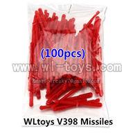 100PCS Missiles For V959 Quadcopter wholesale Wltoys V222 Quadcopter parts wl toys 222 parts