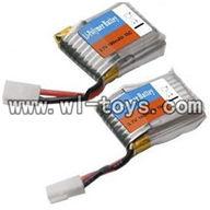 V955-parts-06 Li-po battery(2pcs) wholesale Wltoys V955 model WL toys 955 rc helicopter parts