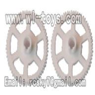 V955-parts-12 Main rotor gears(2pcs) wholesale Wltoys V955 model WL toys 955 rc helicopter parts