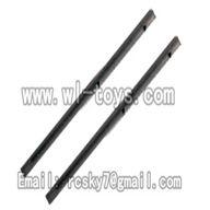 V955-parts-13 Carbon fiber main shaft for the gear(2pcs) wholesale Wltoys V955 model WL toys 955 rc helicopter parts