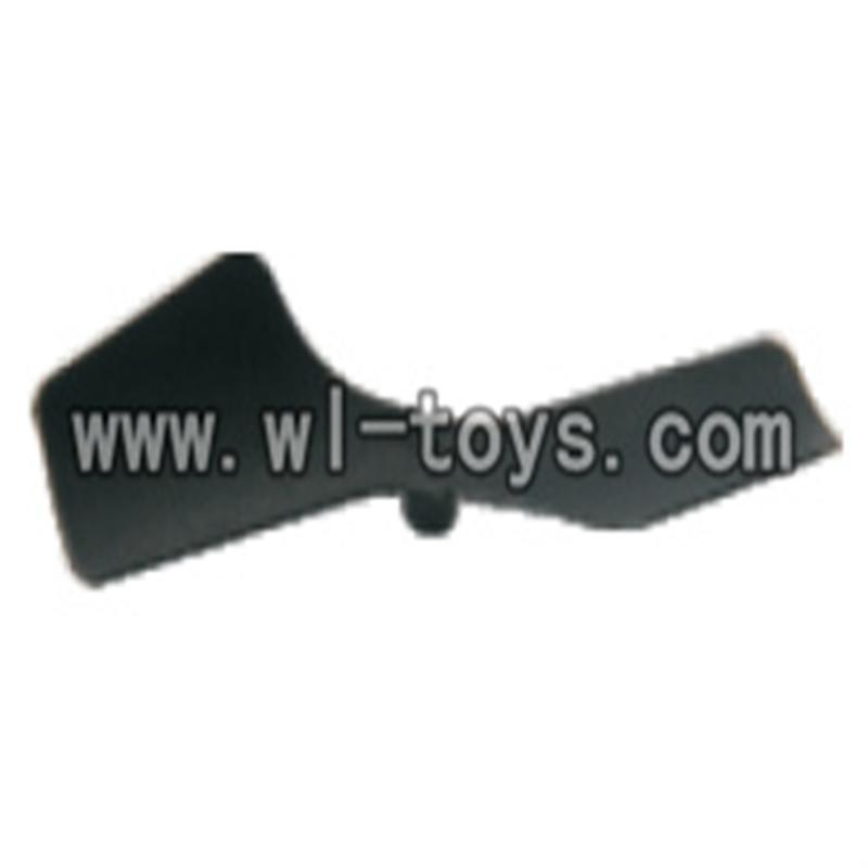 V955-parts-14 Black tail rotor Blade wholesale Wltoys V955 model WL toys 955 rc helicopter parts