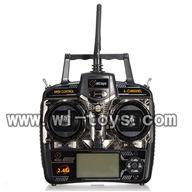 V955-parts-15 Transmitter wholesale Wltoys V955 model WL toys 955 rc helicopter parts