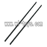 V955-parts-22 Long Carbon fiber tail connect pipe(2pcs) wholesale Wltoys V955 model WL toys 955 rc helicopter parts