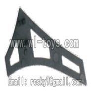 V955-parts-23 Vertical tail(1pcs) wholesale Wltoys V955 model WL toys 955 rc helicopter parts