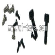 V955-parts-35 Screws M2x8,M1x3,M1.4x3,ST1.2x5PA wholesale Wltoys V955 model WL toys 955 rc helicopter parts