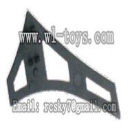 WL V944-parts-23 Vertical tail(1pcs) wholesale Wltoys V944 model WL toys 944 rc helicopter parts V944 parts list